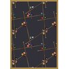 Joy Carpets Gaming and Entertainment Snookered Federal Blue Area Rug