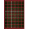 <strong>Joy Carpets</strong> Whimsy Bit O' Scotch Tartan Green Rug
