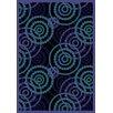 Joy Carpets Whimsy Dottie Sapphire Rug