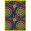 Joy Carpets Whimsy Dottie Rainbow Rug