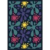 Joy Carpets Whimsy Splat Purple/Blue Area Rug