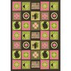 Joy Carpets Just for Kids Wired Pink Area Rug