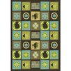 Joy Carpets Just for Kids Wired Tea Area Rug
