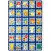 Joy Carpets Just For Kids Alphabet Area Rug