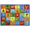 Joy Carpets Educational Bi-lingual Phonics Area Rug