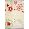 Joy Carpets Just For Kids Pretty Posies Area Rug