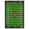 <strong>Joy Carpets</strong> Sports Football Fun Novelty Rug
