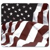 "Allsop Naturesmart Mouse Pad, American Flag Design, 8 3/5"" X 8"""