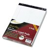 AMPAD Corporation Gold Fibre Writing Pads, Legal/Wide Rule, Letter, 4 50-Sheet Pads/Pack