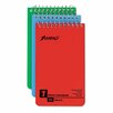 <strong>AMPAD Corporation</strong> Wirebound Pocket Memo Book, College/Narrow Rule, 3 x 5, WE, 60-Sheet, 3/pk