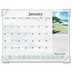 <strong>At-A-Glance</strong> Scenic Full-Color Photographic Monthly Desk Pad Calendar, 22 x 17, 2013