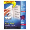 Easy Peel Laser Address Labels, 750/Pack