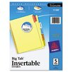 Avery Consumer Products Worksaver Big Tab Reinforced Dividers (5 Tabs)