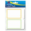 <strong>Avery Consumer Products</strong> Removable Label Pads, 2 x 3, Assorted, 80/Pack