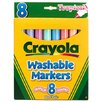 <strong>Washable Markers Tropical 8 Pk</strong> by Crayola LLC
