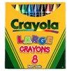 Crayola LLC Crayola Large Size Tuck Box 8-pk