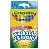 Crayola LLC Washable Crayon (16 Count)