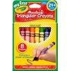 Crayola LLC Washable Triangular Crayon (8 Count) (Set of 8)