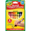 <strong>Washable Triangular Crayon (8 Count)</strong> by Crayola LLC
