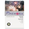 <strong>Fireworx Colored Paper, 20 lbs., 11 x 17, Bottle Rocket Blue, 500/Ream</strong> by Boise®