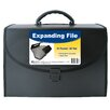 "C-Line Products, Inc. 11"" H x 8.5"" W 21 Pocket Expanding File with Handle"