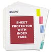 <strong>C-Line Products, Inc.</strong> Poly Sheet Protectors with Index Tabs (5/Set)