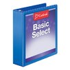 Cardinal Brands, Inc BasicSelect ClearVue Round Ring Binder (Set of 6)