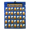 Carson-Dellosa Publishing Attendance/Multiuse Pocket Chart, 35 Pockets/Two-Sided Cards