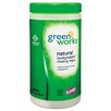 <strong>Natural Wipes, Plant Fiber, 62/Canister</strong> by Clorox Company