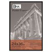 <strong>DAX®</strong> Flat Face Wood Poster Frame with clear plastic window, 24 x 36, Black