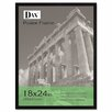 <strong>Flat Face Wood Poster Frame with clear plastic window, 18 x 24, Black</strong> by DAX®