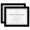 <strong>Document/Certificate Wood Frames (Set of 2)</strong> by DAX®