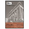 <strong>DAX®</strong> Coloredge Poster Frame with clear plastic window, 24 x 36, Clear Face/Black Border