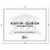 "DAX® Document Clip Frame, 8.5"" x 11"""