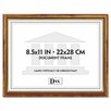 "<strong>DAX®</strong> Two-Tone Document/Diploma Wood Frame, 8.5"" x 11"""
