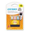 "<strong>Letratag Metallic Label Tape Cassette, 0.5"" x 13', 3 Rolls/Pack</strong> by Dymo Corporation"