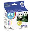 Epson America Inc. T068520 High-Yield Ink, 3/Pack