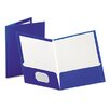 <strong>Esselte Pendaflex Corporation</strong> Oxford High Gloss Laminated Paperboard Folder, 100-Sheet Capacity, 25/Box