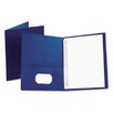 "<strong>Esselte Pendaflex Corporation</strong> Oxford Paper Twin-Pocket Portfolio, Tang Clip, Letter, 1/2"" Capacity, 25/Box"