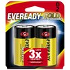 <strong>D Cell Alkaline Battery (2 Pack)</strong> by Energizer®