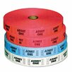 Generations® Pm Company Admit-One Ticket Multi-Pack, 4 Rolls, 2000/Roll