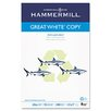 <strong>Hammermill</strong> Great White Recycled Copy Paper, 92 Brightness, 20Lb, 500 Sheets/Ream