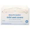 Health Gards Toilet Seat Covers, 250 Covers/Pack, 20 Packs/Carton