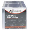 CD/DVD Polystyrene Thin Line Storage Case