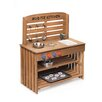 Badger Basket Outdoor Chef Mud Pie Kitchen with Cooking Accessories