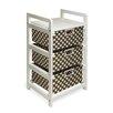 Badger Basket 3 Drawer Hamper/Storage Unit