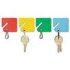 <strong>MMF Industries</strong> Steelmaster Slotted Rack Key Tags, 20/Pack