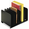 Steelmaster Six-Section Adjustable Book Rack