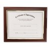 Executive Plaque Frame, Plastic