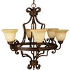 <strong>Craftmade</strong> Riata 6 Light Chandelier